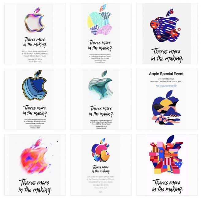 Invitación keynote Apple 30 octubre ipad
